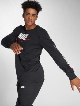 Nike T-Shirt manches longues Sportswear noir