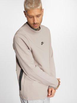 Nike T-Shirt manches longues Sportswear rose