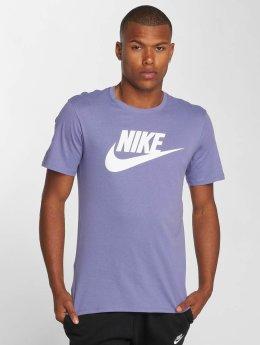 Nike t-shirt Futura paars