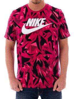 Nike T-Shirt Nsw Aop pink