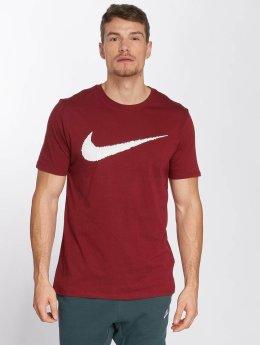 Nike T-Shirt Hangtag Swoosh red