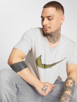 Nike T-Shirty Hangtag bezowy