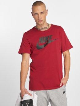 Nike T-Shirty Sportswear Futura Icon czerwony