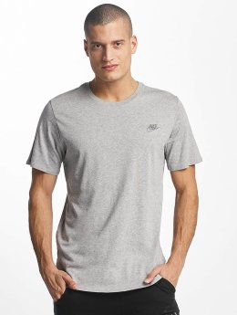 Nike NSW Club T-Shirt Dark Grey Heather/Cool Grey