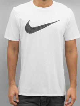 Nike T-skjorter Hangtag Swoosh hvit