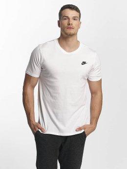 Nike T-skjorter NSW Club hvit
