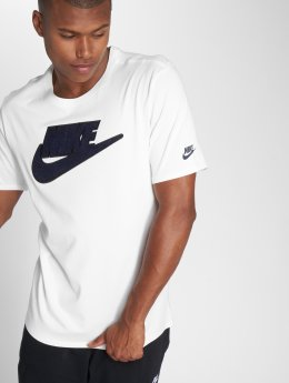 Nike T-skjorter Archiv 1 hvit