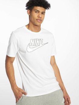 Nike T-skjorter Logo Classic  hvit