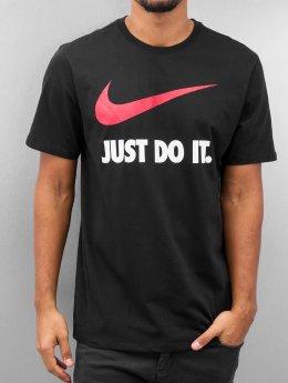 Nike T-skjorter New JDI Swoosh svart