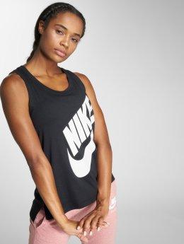 Nike Tank Tops Sportswear èierna