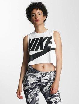 Nike Tank Tops Sportswear Essential biela
