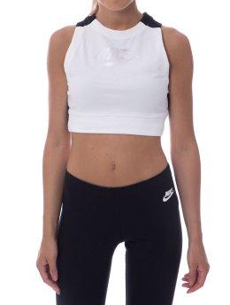Nike Top Crop Air weiß
