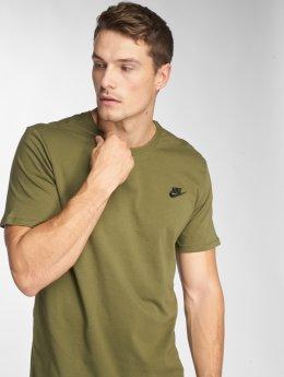 Nike Tričká Sportswear olivová