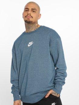 Nike trui Sportswear Heritage blauw