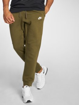 Nike Verryttelyhousut Sportswear FLC CLUB oliivi