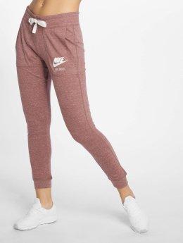 Nike Verryttelyhousut Sportswear Gym Vintage purpuranpunainen