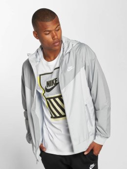 Nike Veste mi-saison légère Sportswear Windrunner gris