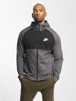 Nike Vetoketjuhupparit Sportswear Advance 15 Fleece harmaa