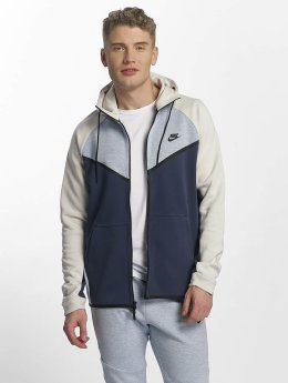 Nike Vetoketjuhupparit NSW Tech Fleece harmaa