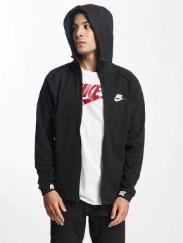 Nike Vetoketjuhupparit Sportswear Advance 15 musta