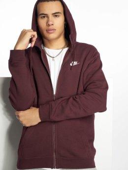 Nike Vetoketjuhupparit Sportswear purpuranpunainen