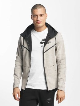 Nike Männer Zip Hoodie Sportswear Tech Fleece in grau
