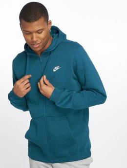 Nike Zip Hoodie Sportswear niebieski