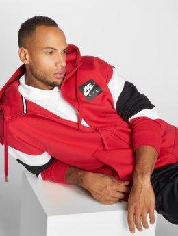 Nike Zip Hoodie Air Transition röd
