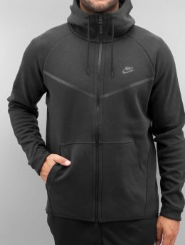 Nike Zip Hoodie Sportswear Tech Fleece schwarz