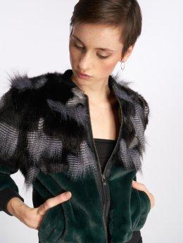 Noisy May Демисезонная куртка nmChic зеленый