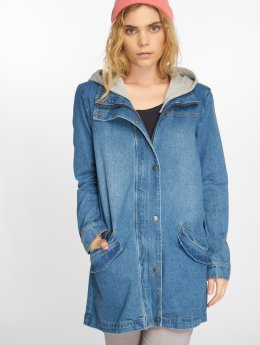 Noisy May Пальто nmArka синий