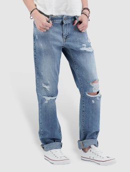 Noisy May Boyfriend jeans nmScarlet Normal Waist Regular blauw
