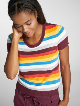 Noisy May Camiseta nmRainbow Multi Knit colorido