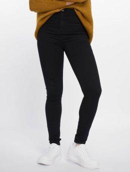 Noisy May High waist jeans nmEllaSuper High Waist svart