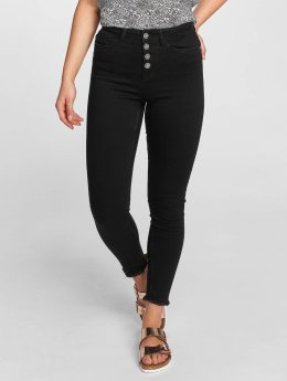 Noisy May High waist jeans nmLexi svart