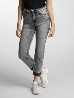 Noisy May / High Waisted Jeans nmTaylor in zwart