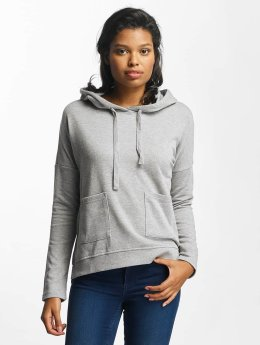 Noisy May nmChristian Hoody Light Grey Melange