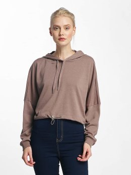Noisy May Hoody nmChristian Crop rosa