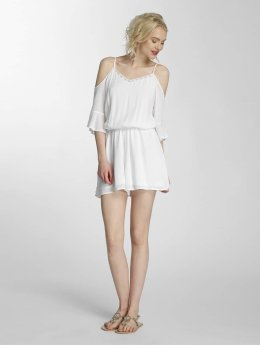 Noisy May Jumpsuits nmAlberte Cold Shoulder white