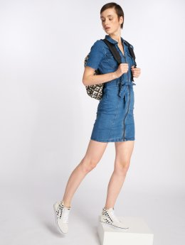 Noisy May jurk nmEbba blauw