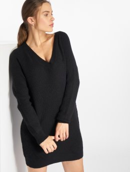 Noisy May jurk nmSati Cable Knit zwart