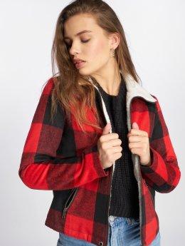 Noisy May Lightweight Jacket nmTina red