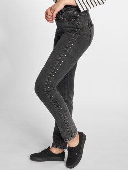 Noisy May Mom Jeans nmDonna  svart