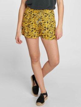 Noisy May nmMagicviscose Shorts Lemon Chrome