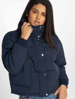 Noisy May Puffer Jacket nmMorris blau