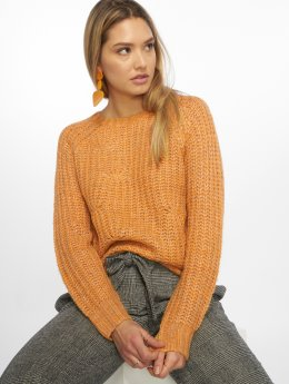 Noisy May Pullover nmSuzu Cable gelb