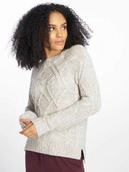 Noisy May Pullover nmCarina Knit grau
