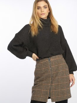 Noisy May Pullover Nmgerda grau