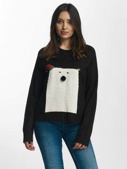 Noisy May Pullover nmSnow Bear schwarz