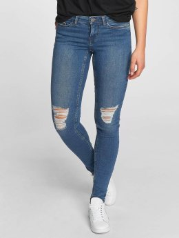 Noisy May Skinny Jeans nmEve blau